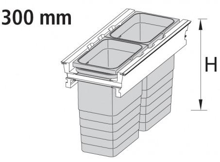 300 mm kabinet