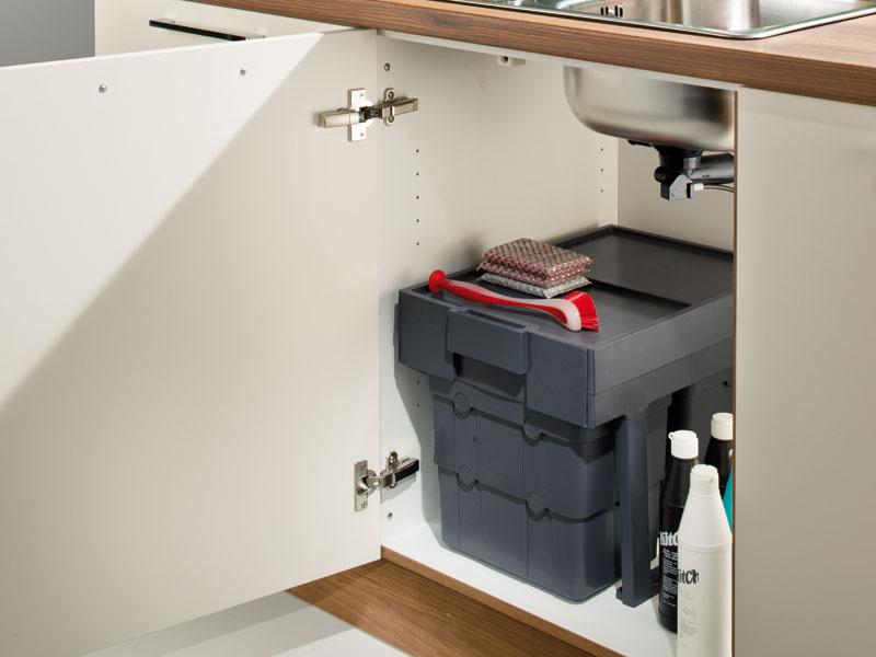 affaldssystem til køkken